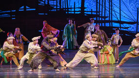 """Abacus-Dance drama """"The Dream of Maritime Silk Road"""" Royalty Free Stock Photography"""