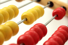 Abacus Detail royalty free stock image