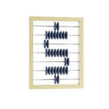 Abacus with dollar sign Stock Photos