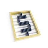 Abacus with dollar sign Royalty Free Stock Image
