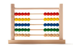 Abacus - Fifty-Fifty Royalty Free Stock Image