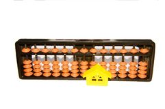 Abacus and Home Stock Images