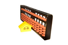 Abacus at Home Royalty Free Stock Images