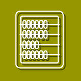 Abacus icon Stock Photography