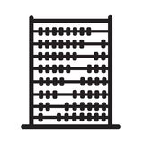 Abacus icon on white background. flat style design. Abacus sign Royalty Free Stock Photography