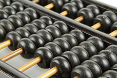Abacus on isolate white Royalty Free Stock Photo