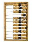 Abacus Isolated Royalty Free Stock Images