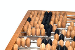 Abacus isolated on white Royalty Free Stock Images