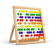 Abacus. Isolated on white background Royalty Free Stock Photography