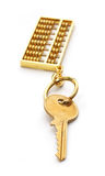 Abacus key Stock Images