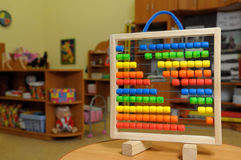 Abacus in the kindergarten. Stock Photography
