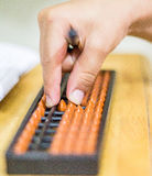 Abacus maths Stock Images