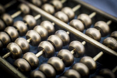 Abacus miniature Stock Image