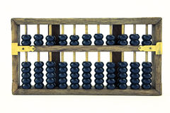 Abacus. Old abacus on a light background royalty free stock image
