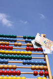 Abacus in open air Royalty Free Stock Images
