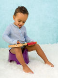 Abacus on potty Royalty Free Stock Photo