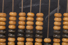 Abacus - retro education concept Royalty Free Stock Photography