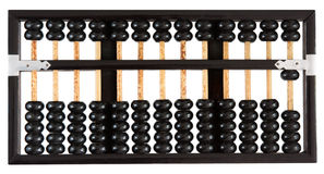Abacus showing one Stock Photography