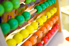 Abacus Toy Royalty Free Stock Images