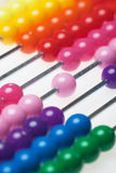 Abacus toy calculator Stock Photo