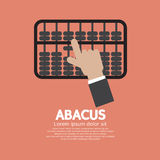 Abacus A Traditional Counting Frame. Vector Illustration stock illustration