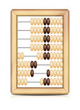 Abacus. Vector illustration of Abacus  on white.  EPS10. All pieces are in different groups for easy customysing Stock Photos