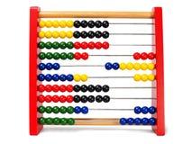 Abacus on white Stock Photos