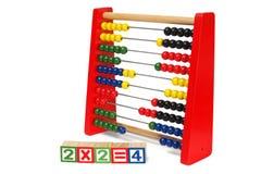 Abacus on white Royalty Free Stock Image