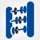 Abacuses. Symbol. Beautiful vector illustration Royalty Free Stock Image