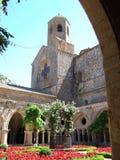 Abadía 01 de Fontfroide Imagen de archivo libre de regalías