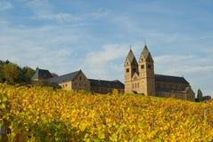 Abadía 01 de Ruedesheim Eibingen Foto de archivo libre de regalías
