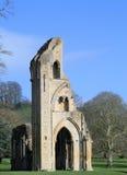 Abadía 4 de Glastonbury Imagenes de archivo