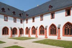 Abadía alemana en Bernkastel, Alemania Fotos de archivo