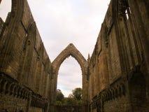 Abadía antigua Imagenes de archivo