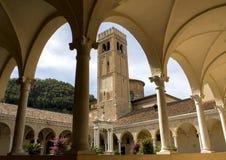 Abadía antigua de Praglia Italia Imagen de archivo libre de regalías