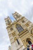 Abadía antigua de Westminister de la iglesia, Londres Foto de archivo