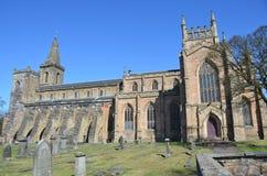 Abadía antigua en Dunfermline Foto de archivo libre de regalías