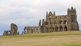 Abadía antigua en la costa Fotos de archivo