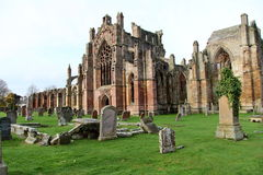 Abadía arruinada Fotos de archivo libres de regalías