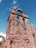 Abadía arruinada Foto de archivo libre de regalías