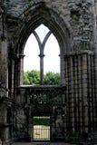 Abadía arruinada Imagen de archivo libre de regalías