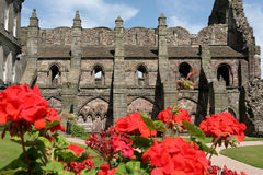 Abadía arruinada Imagenes de archivo