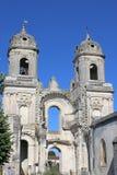Abadía arruinada del ` Angely del St Jean D Foto de archivo