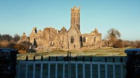 Abadía, atracción turística, Irlanda del oeste Fotos de archivo libres de regalías