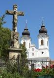 Abadía benedictina Imagen de archivo