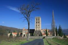Abadía benedictina Foto de archivo libre de regalías