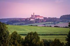 Abadía benedictina de Neresheim, Alemania Imagen de archivo