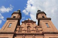 Abadía benedictina de San Pedro en Alemania Foto de archivo libre de regalías