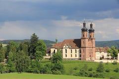 Abadía benedictina de San Pedro en Alemania Fotos de archivo