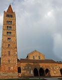 Abadía benedictina del Pomposa en Italia Fotos de archivo